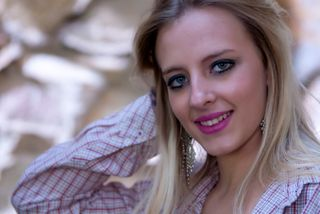 New Face weiblich Model Rosa from Spanien