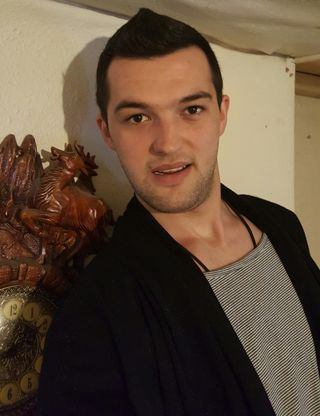 New face maschile modello Miroslav from Bulgaria