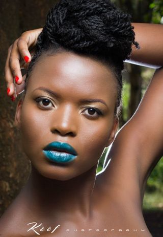 New face female model Yvette from Kenya