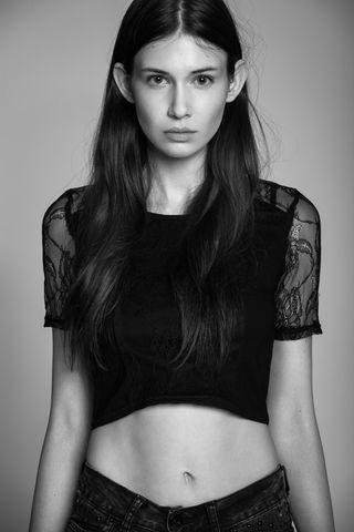 New face female model Milena from Poland