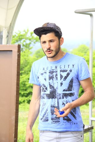 New face maschile modello Yusuf from Azerbaijan