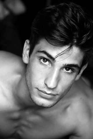 New face male model Sébastien from France
