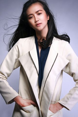 New Face weiblich Model jessica from Indonesien
