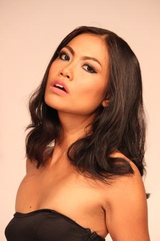New face female model Karina from Indonesia
