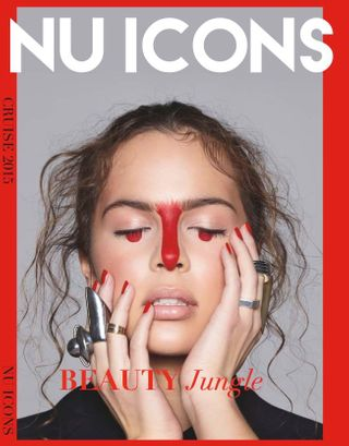 Cover of NU ICONS Magazin