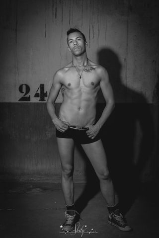 New face male model Den from France