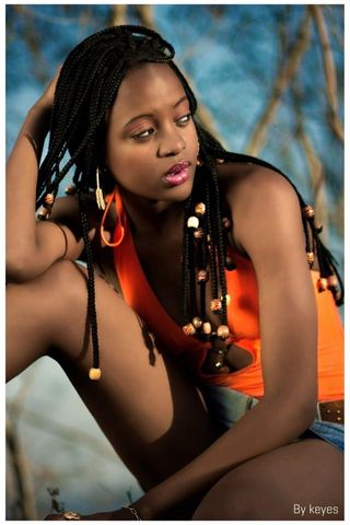 New Face weiblich Model Rindzela from Mozambique