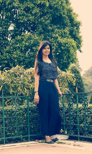 Siddhi Jain: The girly and fashionist side of me.