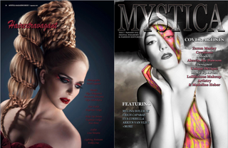 Mystica Magazine - Issue September 2015 - Hair Extravagant