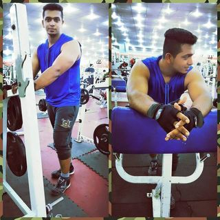 After long time start gym.