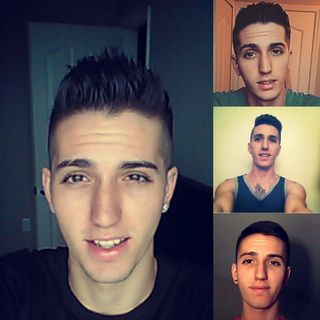 Different styles with my hair.