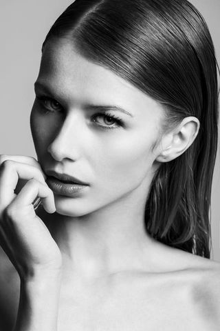 New face femme Mannequin Dominika from Slovaquie