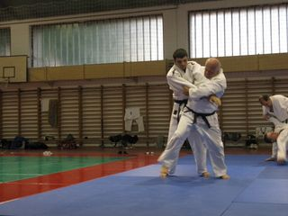 In judo training