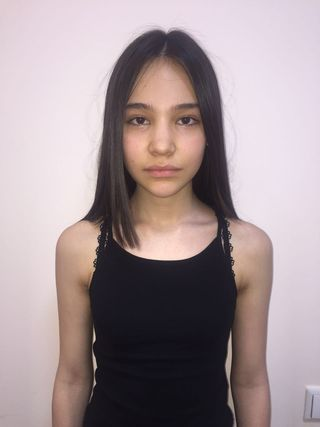New face female model abigail from Kazakhstan