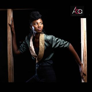 This photo was taken by Adleks in a wooden window, while i was posing in an ABA jacket.