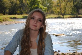 Senior pictures taken at local forest preserve