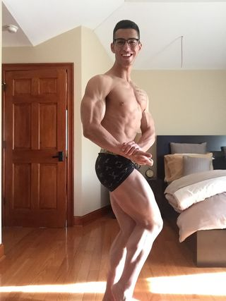 Prom/Bodybuilding: INBF Natural Connecticut 1 day out