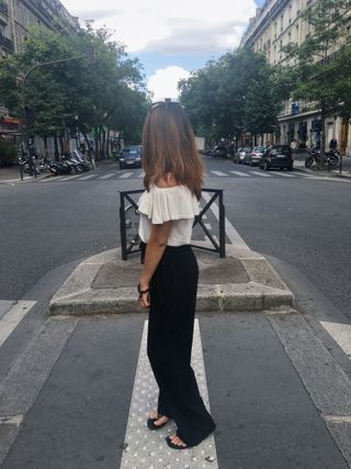One of the streets in Paris