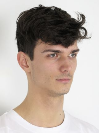 New face male model David from France