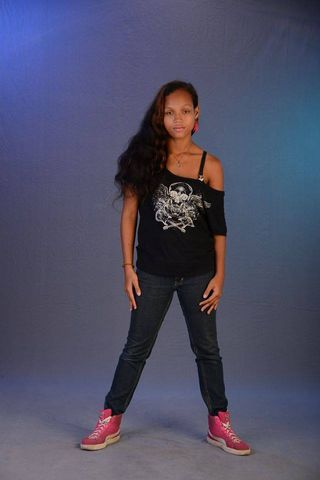 New face female model Tamii from Suriname