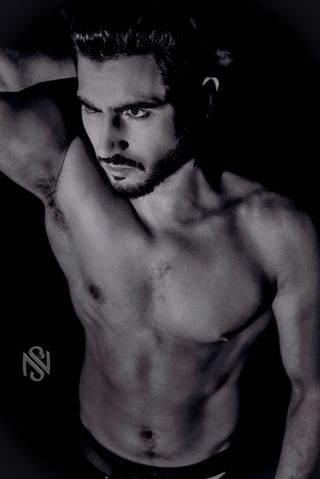 New face male model Hamza from Algeria