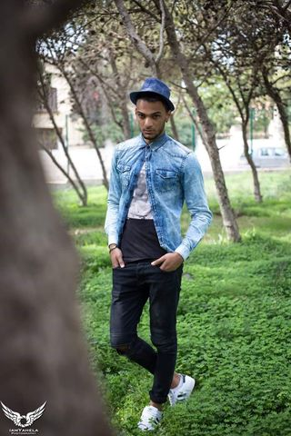 New face male model ismail from Algeria