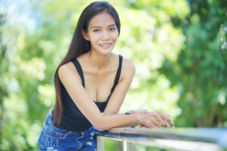 New face female model Suphannee from Thailand