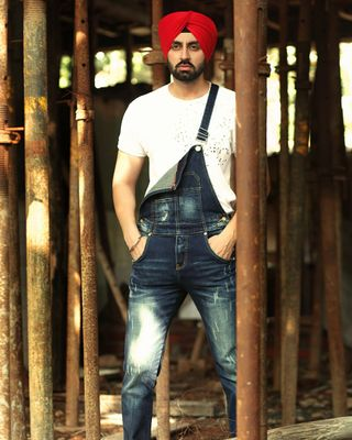Sikh Model looking 