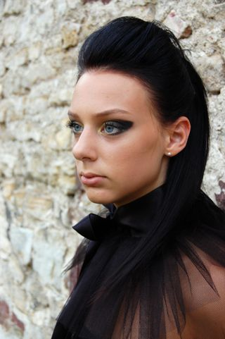 New face female model Eszter from Hungary