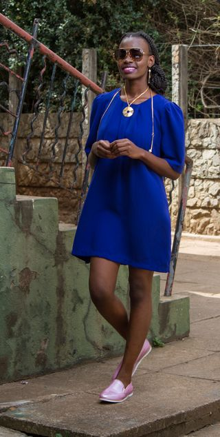 Another image for The Nairobian fashion spread.