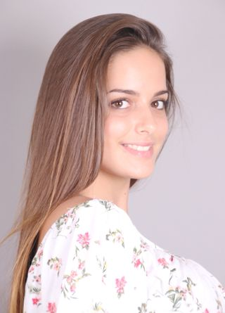 New face female model Andrea from Spain