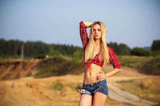 New face female model Kseniya from Russia