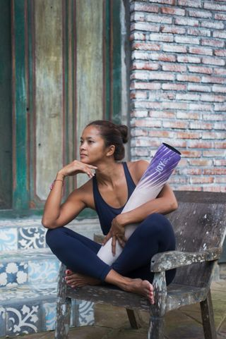 Modeling for JOYinMe yoga mat took place in Bali island,Indonesia