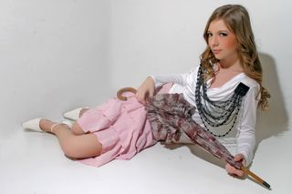 New face female model Fanny from Hungary