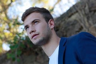 New face male model David from Spain