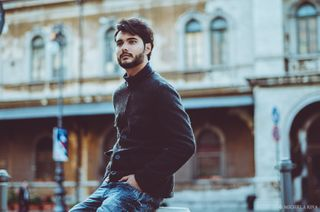 New face male model Ruben from Italy