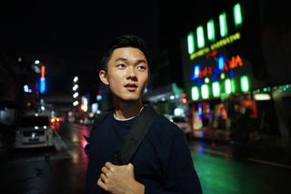 New face male model Sutanto from Indonesia