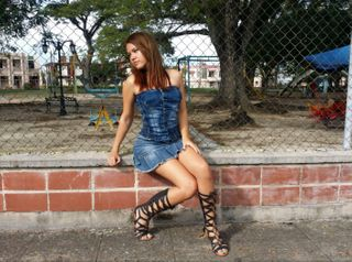 New face female model Maria from Cuba