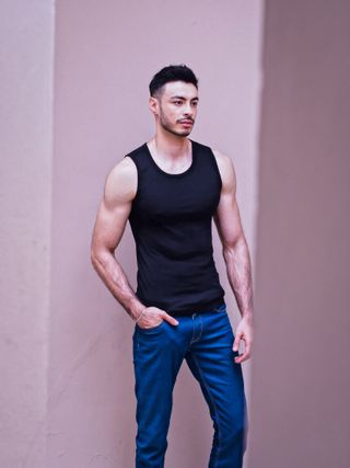 New face male model Batyr from Malaysia