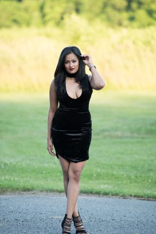 New face female model Riddhi from United States