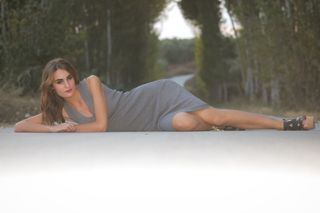 New face female model Noelia from Spain