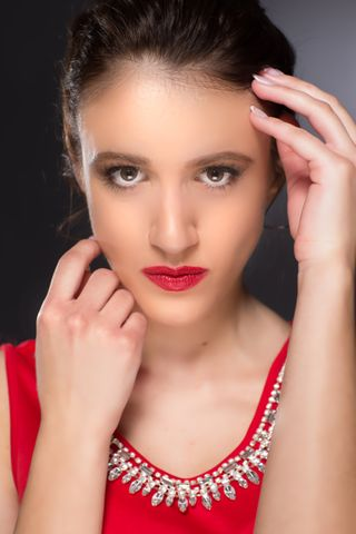 New Face weiblich Model Viktoriia from USA