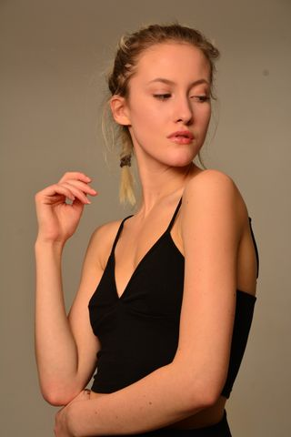 New face female model Nicole from Sweden