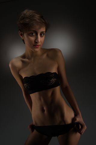 New face Female model Amelie from Switzerland