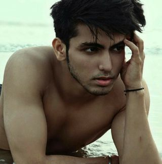 New face male model raj from India