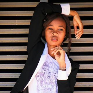 New face female model Bino from Botswana