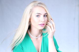 New face female model iryna from Hong Kong