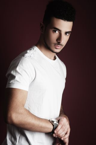 New face male model Ali from United Kingdom