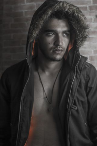 New face male model Fahem from Algeria