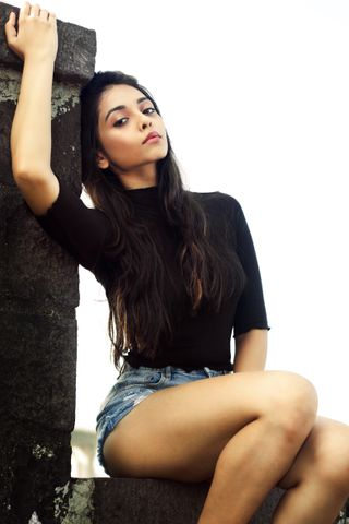 New face femminile modello Amanpreet from India